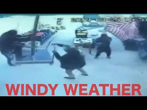Windy Weather    Funny Videos