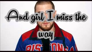 The Way It Used To Be - Mike Posner (Lyrics)