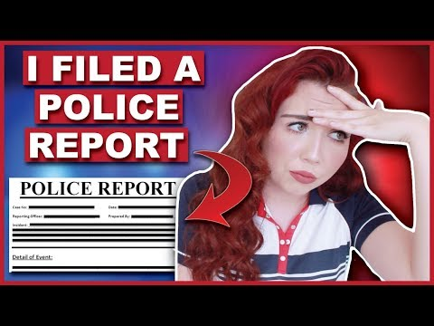 I Had To File A Police Report Today | Storytime