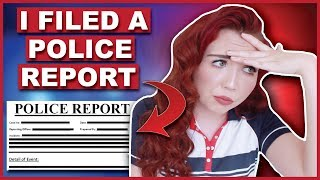 I Had To File A Police Report Today   Storytime