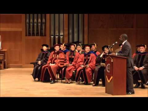 Master's Hooding Ceremony - April 29, 2016