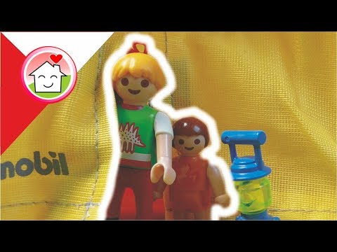 Playmobil Film Polski Kemping w ogrodzie - Rodzina Hauserów