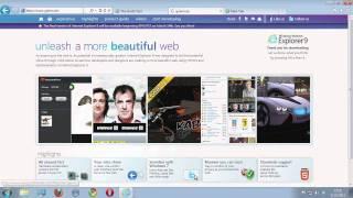 Internet Explorer 9 - Test