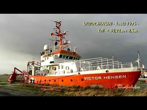 research survey vessel VICTOR HENSEN 9HYZ7 IMO 7360655 Emden Forschungsschiff