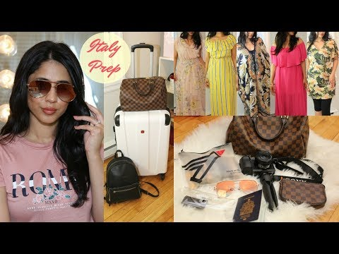 Pack and Prep with me for Italy | Haul + Pack with me thumbnail