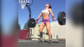 Crossfit Girls Are Awesome | Crossfit Workout With Perfect Female Crossfit Athletes