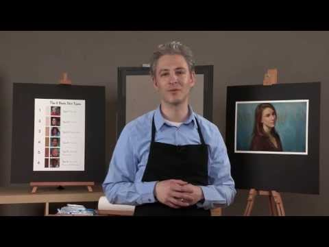 Preview   Painting Skin Tones in Pastel with Alain Picard