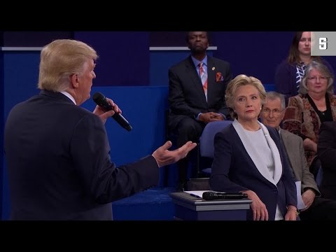 Duell Clinton vs. Trump: Die hässlichsten Momente