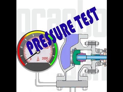 Pressure test Valve