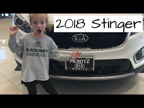 2018 KIA Stinger (according To A 5 Year Old)