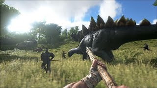 Download Ark Survival Evolved Apk,Data For Free Android In Hindi |No Any Issue|