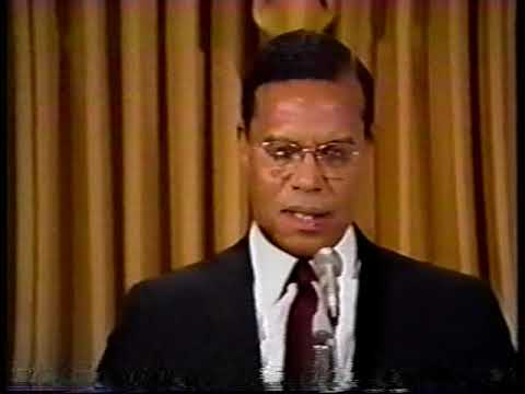 ''The Honorable Louis Farrakhan Speaks On Attitude''