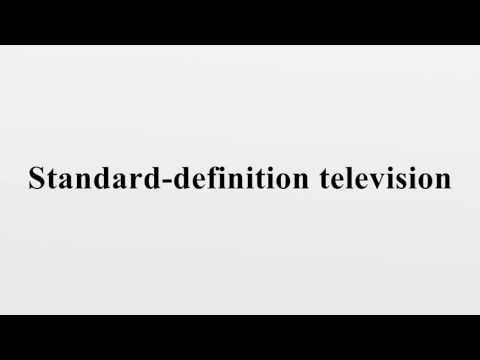Standard-definition television