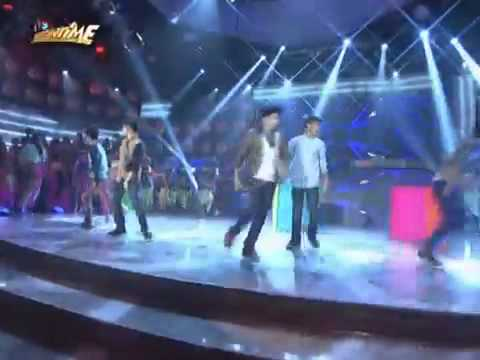 Luv U and Gimme 5 on Showtime!