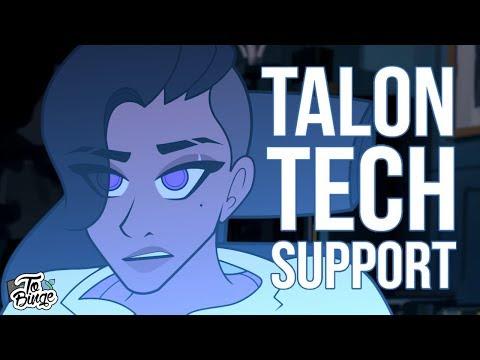 Talon Tech Support: Overwatch Animated