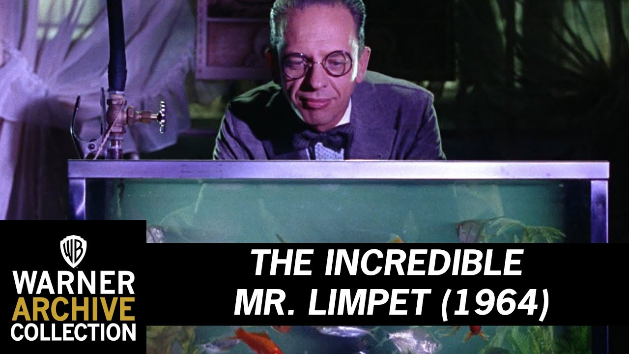 The Incredible Mr Limpet 1964 Fish Have Wonderful
