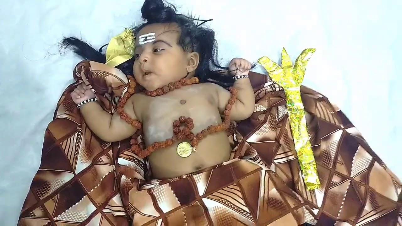 Cute Little baby as Lord Shiva || Photoshoot || Har Har Mahadev