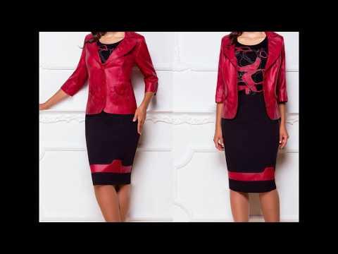 Белорусские платья красного цвета