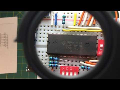 HM6116 2K X 8 Static RAM
