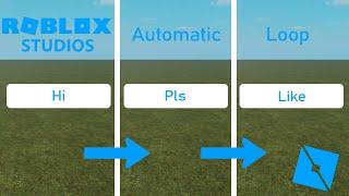 Cómo hacer cambiodeen el texto en el juego [Tutorial de ROBLOX Studio]