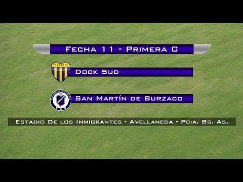Fecha 11: Dock Sud vs San Martín de Burzaco - EN VIVO