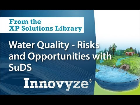 Water Quality - Risks and Opportunities with SuDS with Jo Bradley, Environment Agency