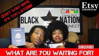 DON'T WAIT! | Ghana Visa Unboxing | Travel Vlog | Trip to Africa | Ghana Vlog Update!