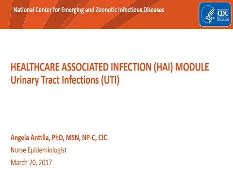 Reports on urinary infections