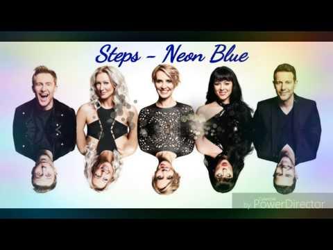 Steps - Neon Blue