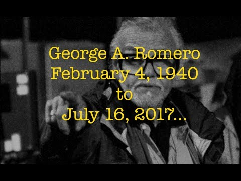 George A. Romero dies at 77 - Short Tribute Inspiration Film by F. Sudol
