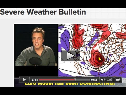 URGENT! Severe Weather Bulletin!  Crippling blizzard Feb. 25-26 in Southern Plains!