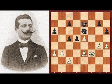 Шахматы. Вильгельм Кон - Джеймс Мэзон: что лучше - слон или конь?