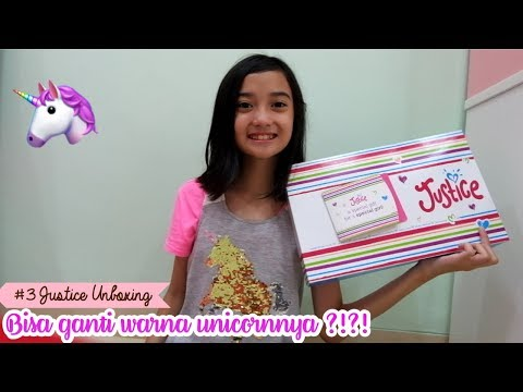 Bisa ganti Warna Unicornnya ?!?! #3 Justice Unboxing 🦄 | Friendship DIY