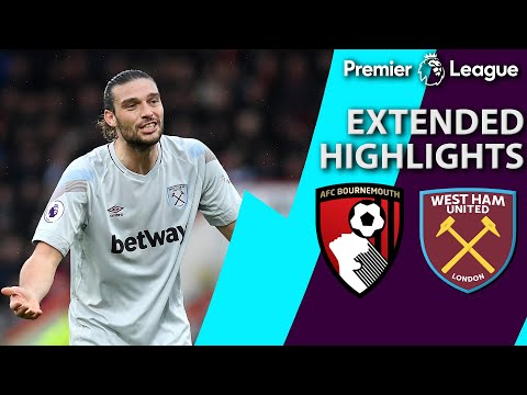 Bournemouth v. West Ham | PREMIER LEAGUE EXTENDED HIGHLIGHTS | 1/19/19 | NBC Sports