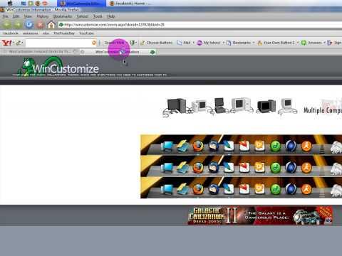 How To Make Vista Look Like A Mac (dock) HD Tutorial!