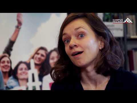 Vytaute, étudiante en mathématiques - CAMPUS FRANCE LITUANIE -