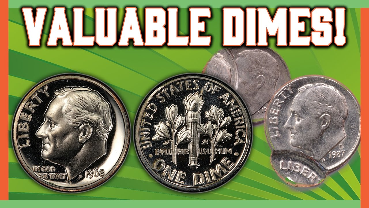 Rare Dimes Worth Money Roosevelt Error Coins Youtube