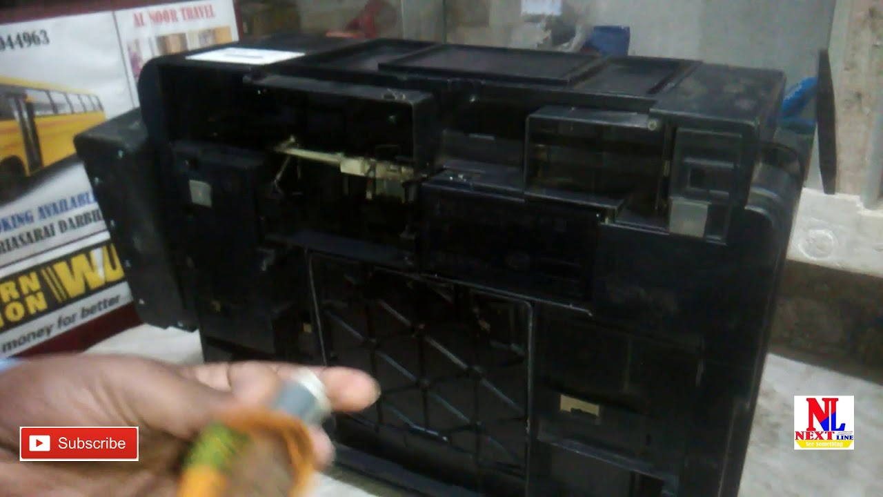 How To Solve Paper Jam Epson L210 L220 L360 L380 Youtube