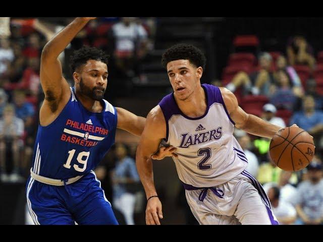Full Highlights: Los Angeles Lakers vs Philadelphia 76ers, MGM Resorts NBA Summer League | July 12