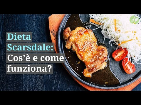 dieta scarsdale vegetariana menu settimanale