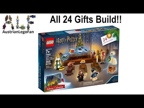 Lego Harry Potter 75964 Advent Calendar 2019 - Lego Speed Build Review