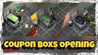 All Coupon Boxs Opening In Bunker Alpha - Last Day on Earth v1.7.3 (2018) !!