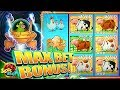 MAX BET BIG BONUS!!!! Invaders Return From Planet Moolah - 1c Wms Slot