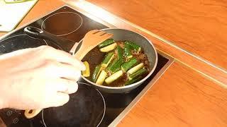 Жареные огурцы в соусе-маринаде Пулькоги Daesang