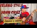 Island Style JOHN CRUZ Ukulele cover on ENYA EUT-X1 & SHURE MV51