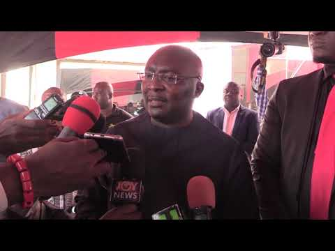 Dr Bawumia Mourns With Multimedia Group