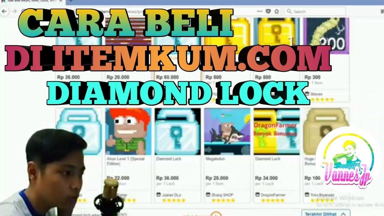 Cara Beli Diamond Lock Di Itemku Com Youtube