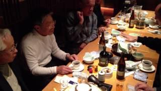 茶畑ボケ華研2012年12月例会2次会風景