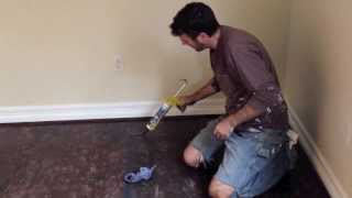 How to Finish a Plywood Subfloor