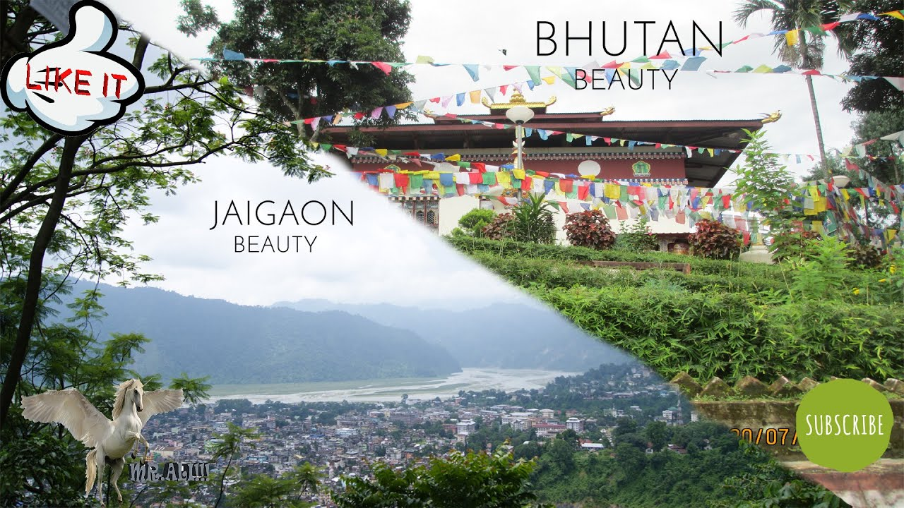 Jaigaon Beauty Gumba Of Bhutan